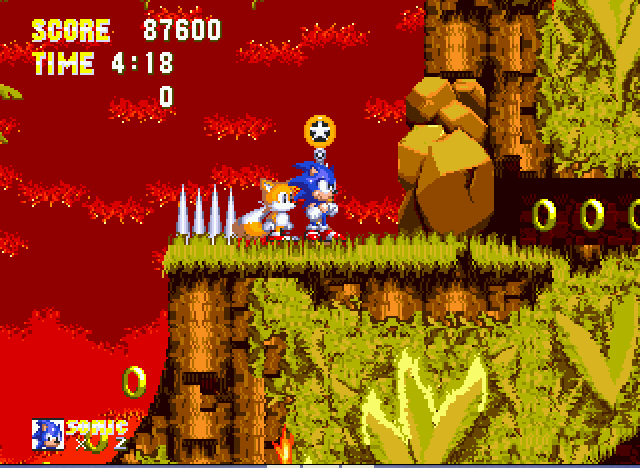Sonic the Hedgehog 3 - I got 4 emeralds - User Screenshot